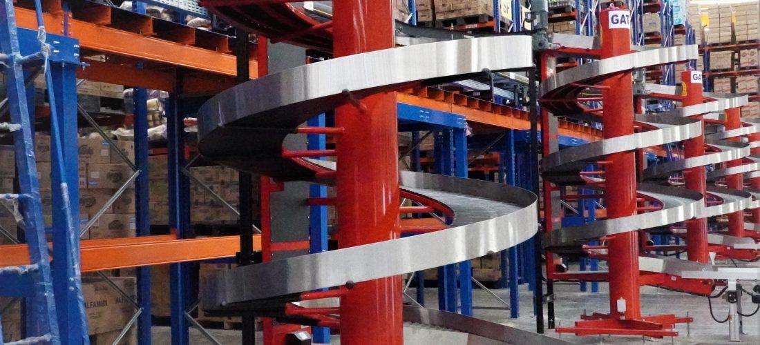 Spiral conveyor by Ambaflex